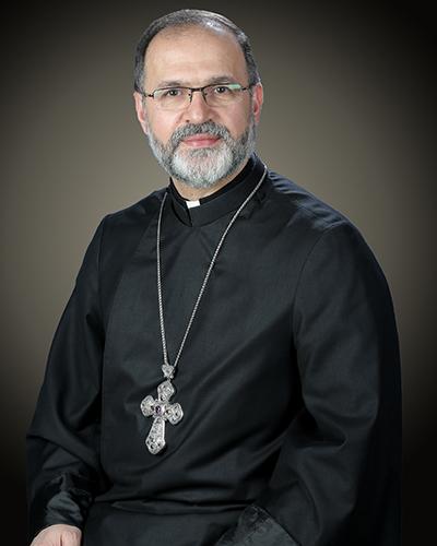Révérend Archiprêtre Zareh Zargarian