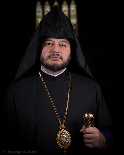 His Grace Bishop Abgar Hovakimyan