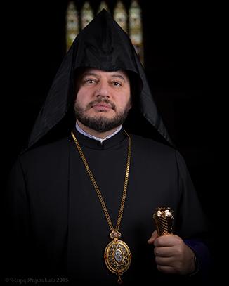 Sa Grâce l'Évêque Abgar Hovakimyan