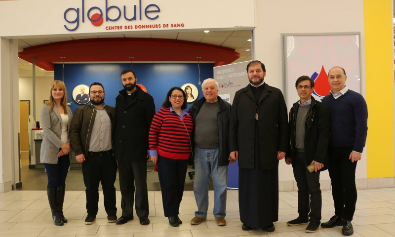Annual Blood Drive in memory of Holy Martyrs of the Armenian